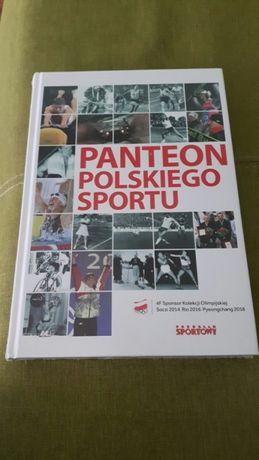 Książka- Panteon polskiego sportu