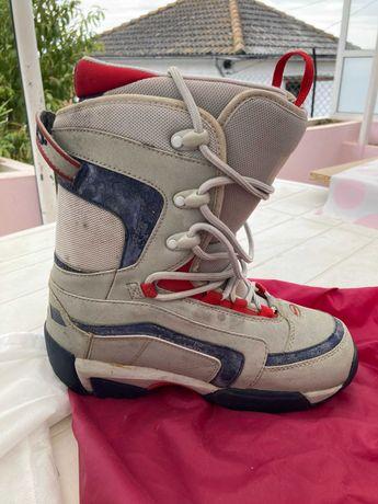 botas de snowboard de mulher