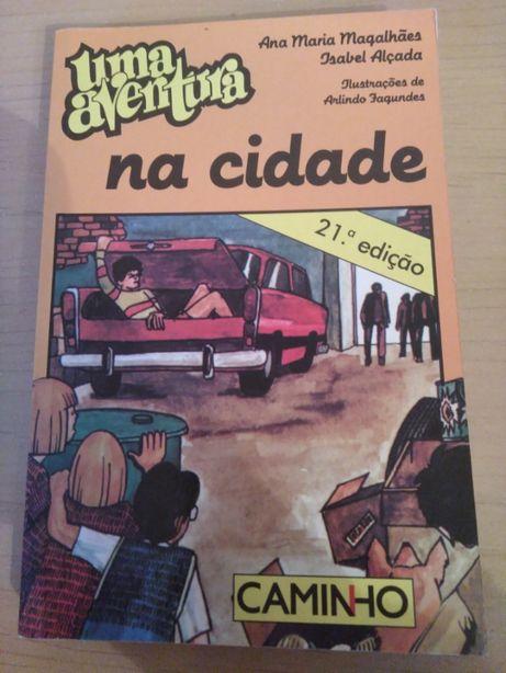 """""""Uma Aventura na Cidade"""" de Ana Maria Magalhães e Isabel Alçada"""