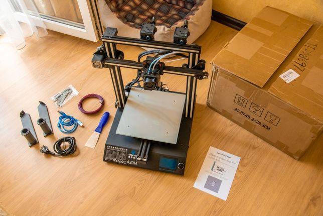 3D принтер Geeetech A20M (Mix) 25x25x25cm подогрев, стекло, как новый