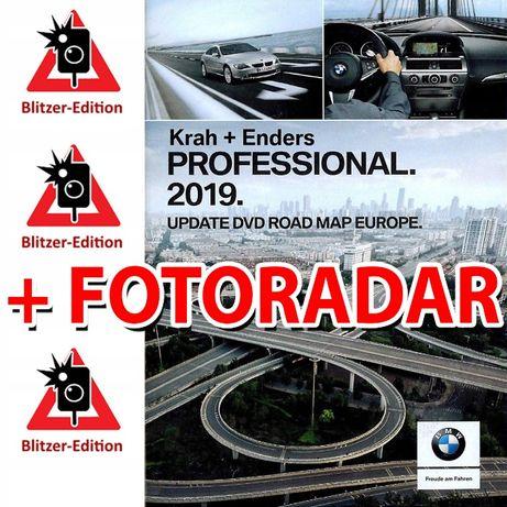 Mapa nawigacja BMW Professional 2019 E60 E61 E90 E91 X5 E70 X6 E87 CCC