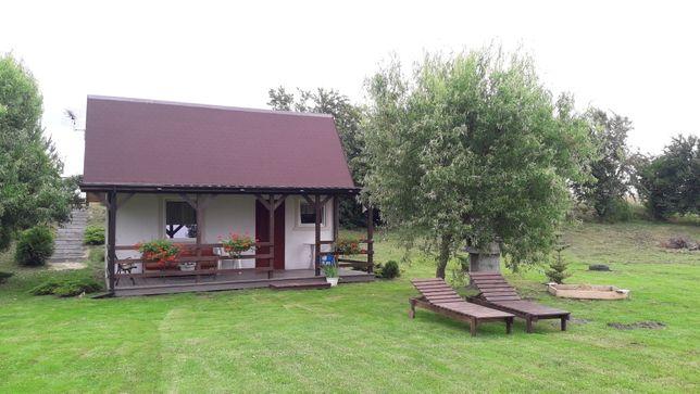 Domek nad jeziorem powidzkim