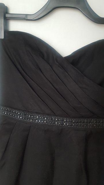 Sukienka mała czarna RESERVED