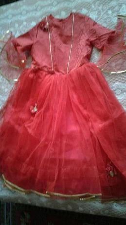 Платье нарядное бальное для маленькой принцессы 9-13 лет