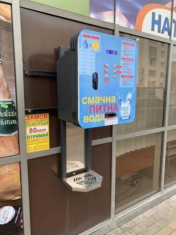 Автомат продажи питьевой воды GWater настенный G1XXXX