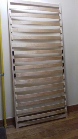 stelaż, żebra pod materac. Wkład do łóżka 90 x 200 zlistew sprężynując