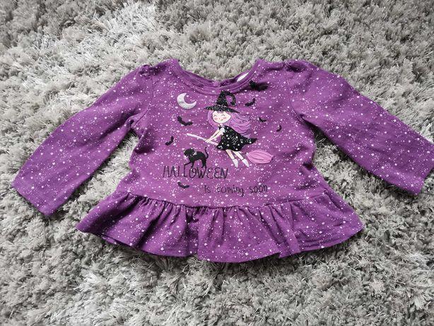 Bluzeczka fioletowa 80