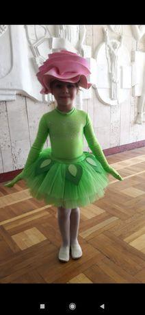 Карнавальный новогодний костюм цветок