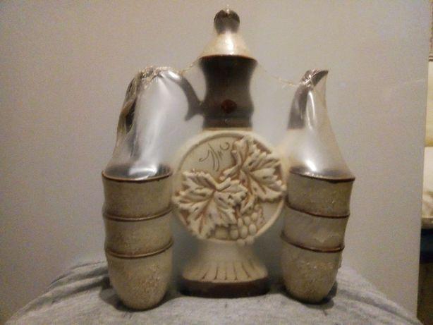 Керамический набор для вина/коньяка