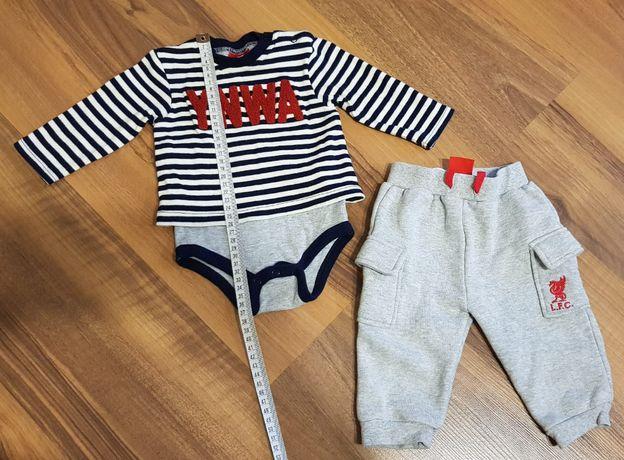 Dres komplet Liverpool F.C. ciepły gruby body/bluzka+spodnie 62/68