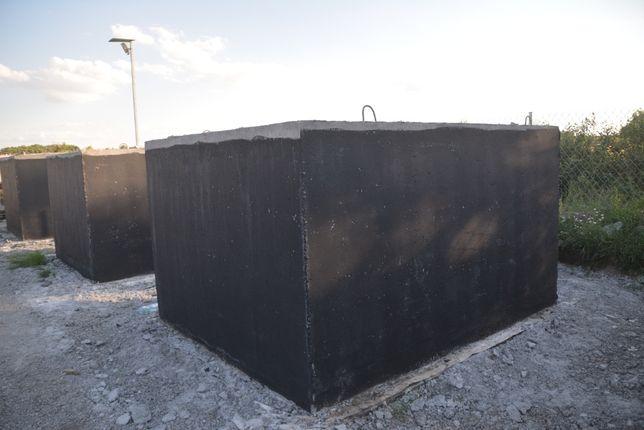 Szambo betonowe 8m3 Zbiornik na deszczówkę Montaż Gwarancja