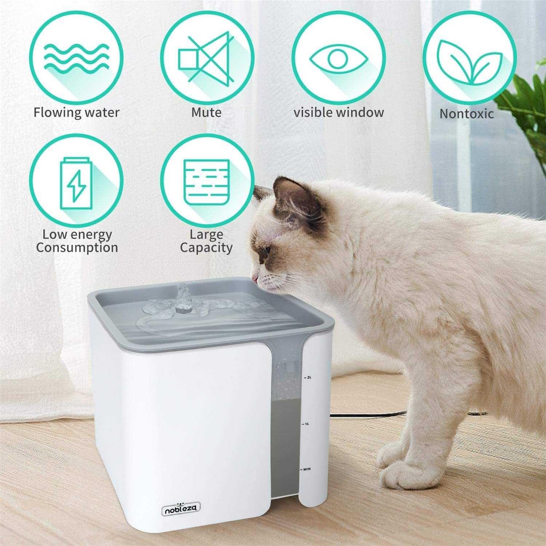 Fonte de Água para gato e cão, water fountain - NOVA