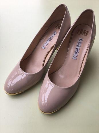 Sprzedam nieużywane skórzane buty ślubne marki Mario Bolucci