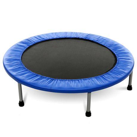 trampolina ogrodowa fitness 140cm do domu składana