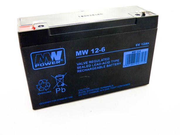 Akumulator 6V 12Ah ŻELOWY do ZABAWEK MPL Akumulatory WARSZAWA