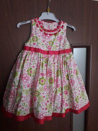 Sukienka elegancka r.80 sukieneczka