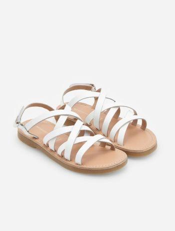 Skórzane sandałki, sandały Reserved. Rozm. 36.