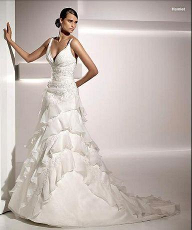 Vestido de noiva marca Pronovias