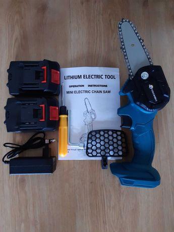 Mini Serra Elétrica Portátil VIOLEWORKS 800W / 2 Baterias (NOVO)
