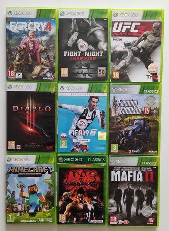 Gry Xbox 360 Farming FIFA Diablo UFC Tekken Minecraft Mafia Fight nigh