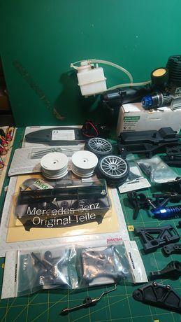 Mercedes deagostini dtm 2008 rc на радиоуправлении на нитрометане двс