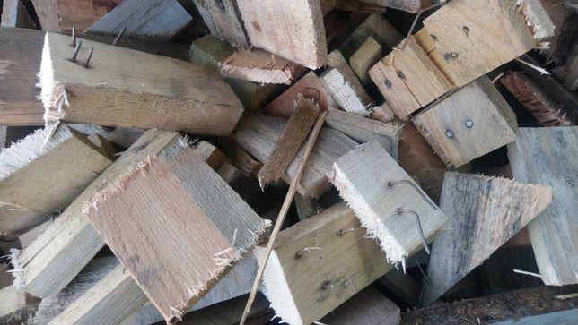 Drewno odpadowe opałowe