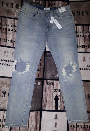 Dżinsy jeansy męskie skinny 38/32