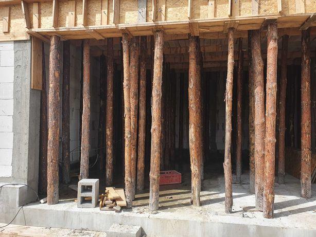 stemple budowlane drewniane 2,80 cm 280 cm 325 szt część 290cm