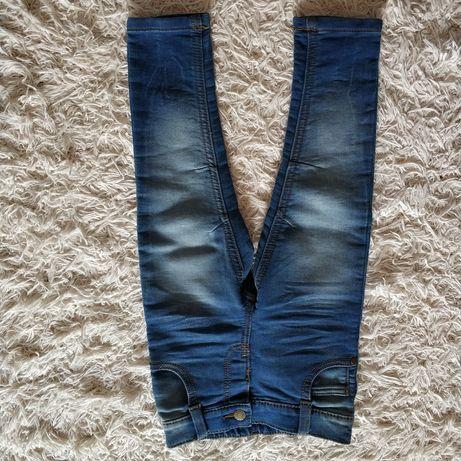Spodnie jeansy ff 86-92