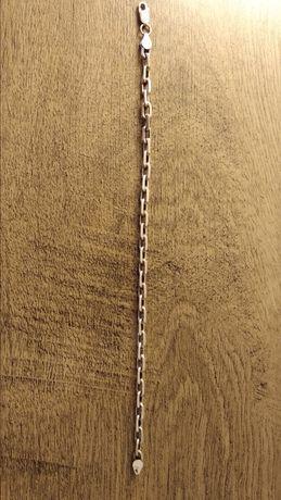 Bransoletka, pancerka - srebro 925