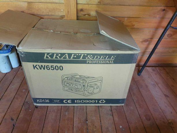 Agregat Prądotwórczy KRAFT KW6500 nie używany