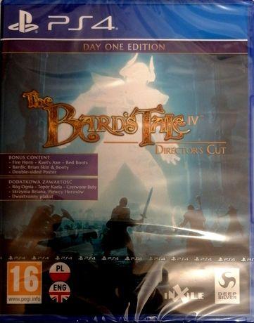 Gra na PlayStation 4 - The Bard's Tale IV. Nowa, zafoliowana.
