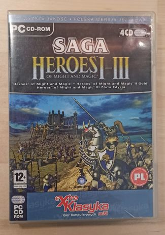 Heroes of Might and Magic I, III gry PC