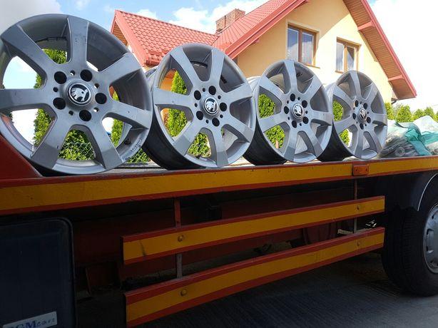 Felgi Aluminiowe Skoda Octavia R15 5x112 ET38 6.5J