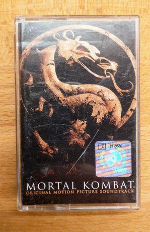 Mortal Kombat soundtrack kaseta muzyka filmowa