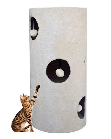17026 TUBA drapak dla kota z legowiskiem i matą z sizalu do drapania