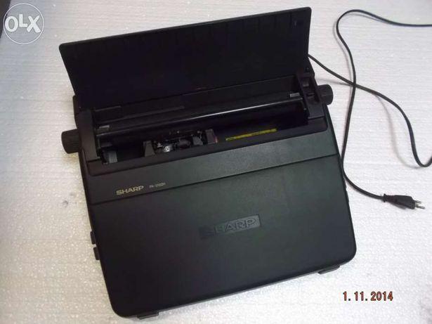 Máquina de escrever electrica Sharp