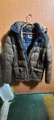 Зимняя мужская куртка (холлофайбер)