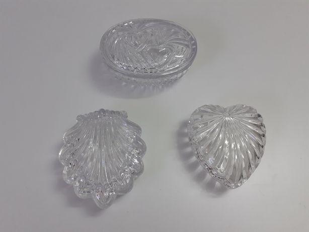 Guarda jóias de cristal (bom estado)
