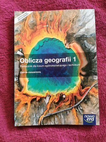 Podręcznik,, Oblicza geografii 1'' nowy