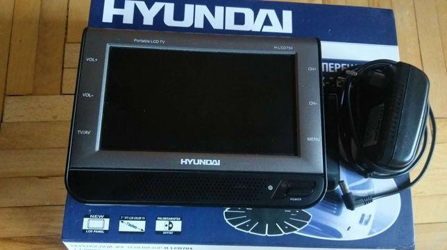 Hyundai H-LCD704 переносной жк-телевизор