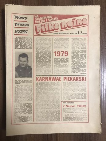 Tygodnik Piłka Nożna rocznik 1979 komplet