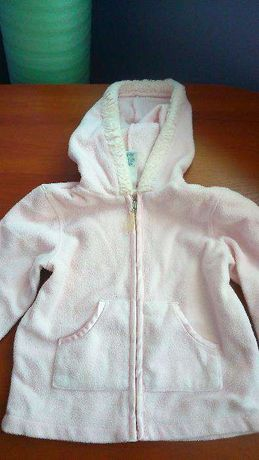bluzka dziewczęca rozpinana z kapturem na 92-98 cm OLD NAVY