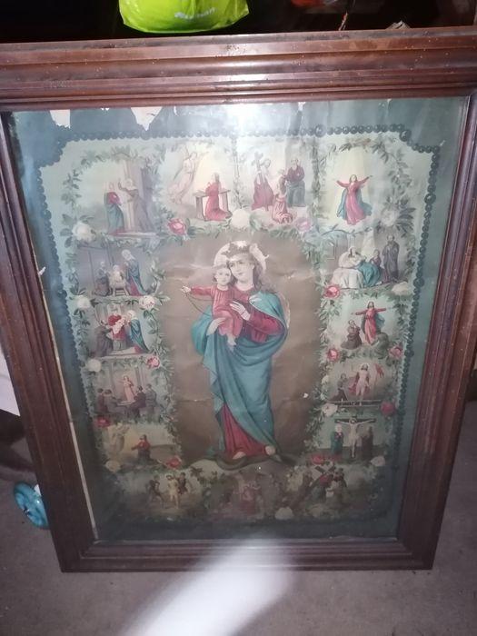 Stary Maryjny obraz Droga Krzyżowa Kańczuga - image 1