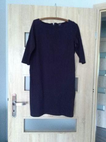 Sukienka granatowa służyła jako ciążowa rozmiar L