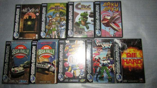 Lote de Jogos Sega Saturn - Ler anuncio