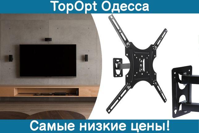 Крепление для телевизора и монитора 14-55 HDL-117B2 кронштейн на стену