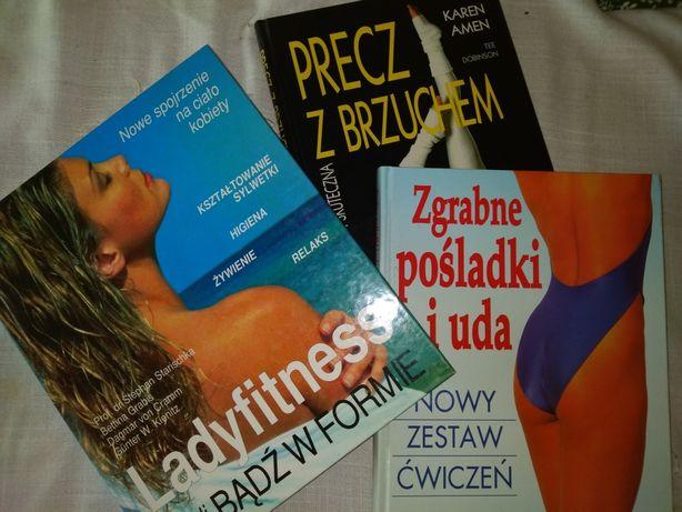 Zestaw 3 x Książki fitness dieta ćwiczenia