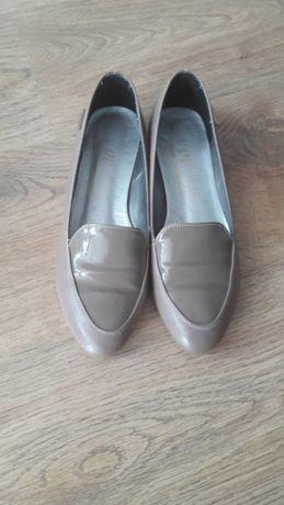 Buty - baleriny - beżowe - rozm. 36