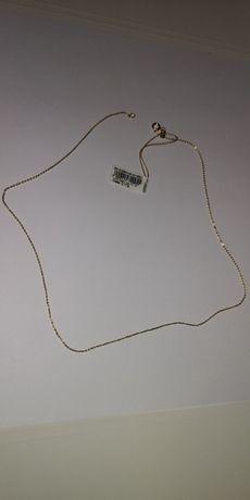 Łańcuszek, złoto 585, nowy, Yes.